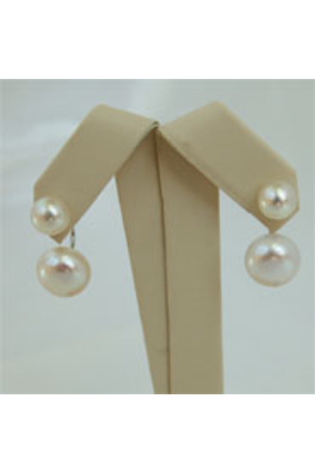 The Grace Double Pearl Stud
