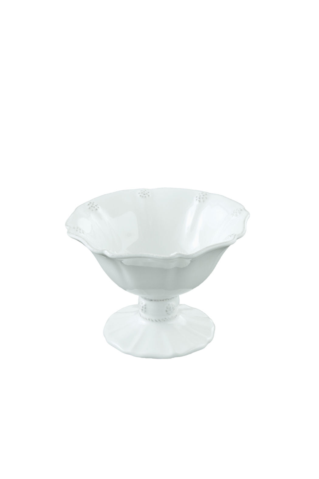 Juliska Berry & Thread Whitewash Small Footed Compote