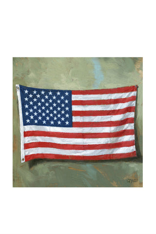 Old Glory Flag Print
