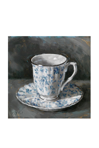 Tea Cup Canvas Print