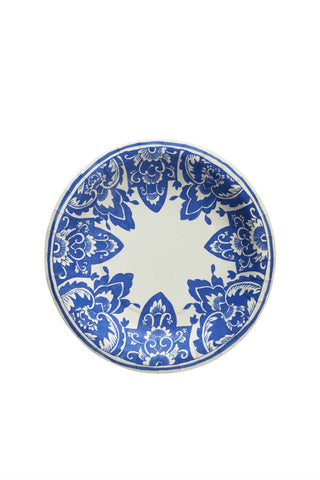 China Blue Paper Salad Plates