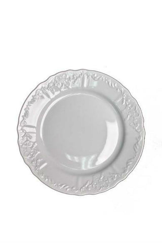 Anna Weatherly Simply Anna White Dinner Plate Brynn & Jason