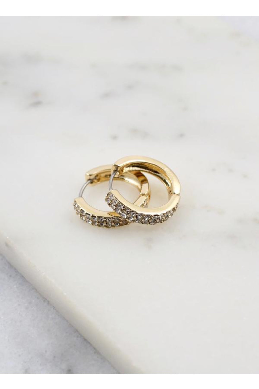 Paxton Gold Hoop Earring