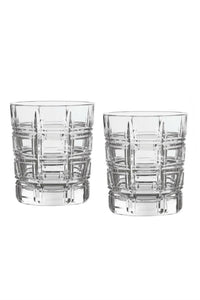 Marquis by Waterford Crosby Double Old Fashioned Set of 4