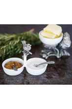 Load image into Gallery viewer, Vagabond House Song Bird Double Salt Cellar