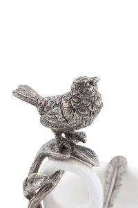 Vagabond House Song Bird Double Salt Cellar