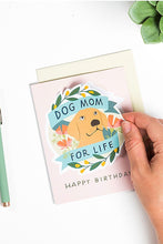 Load image into Gallery viewer, Dog Mom for Life Sticker Card