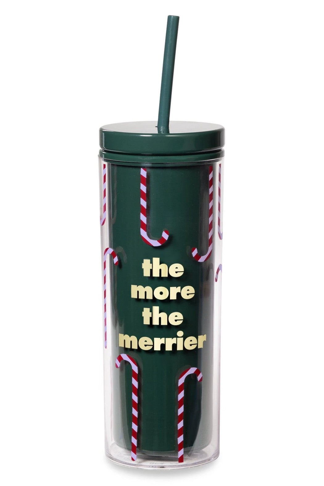 Kate Spade The More The Merrier Tumbler with Straw