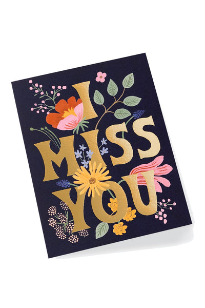 "Rifle Paper Co. ""I Miss You"" Card"