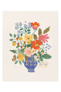 Rifle Paper Co. Strawberry Fields Bouquet Art Print