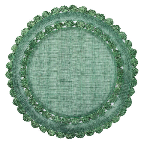 Juliska Isadora Evergreen Set of 4 Placemats