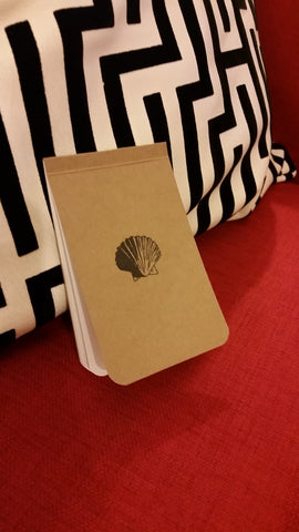 Seashell Memo Notebook