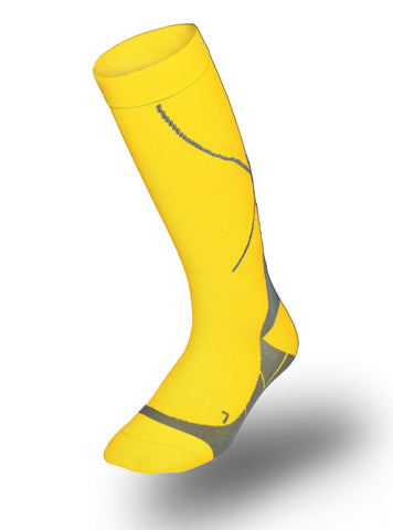 TAC Compression Socks (Citron Yellow)