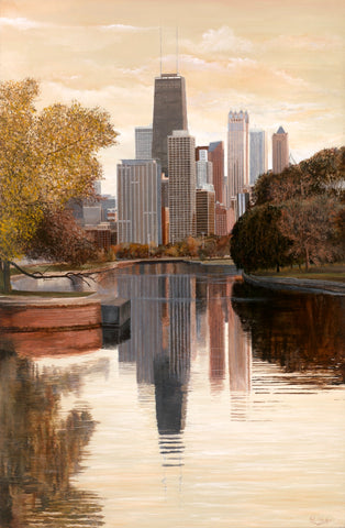 Afternoon Reflections - Original