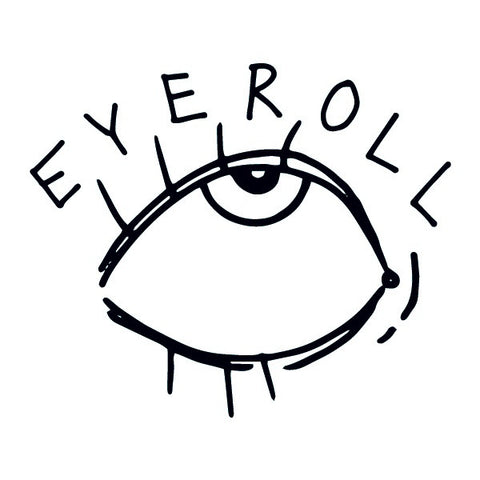 Temporary Tattoo - Eye Roll - Designed by Ambivalently Yours