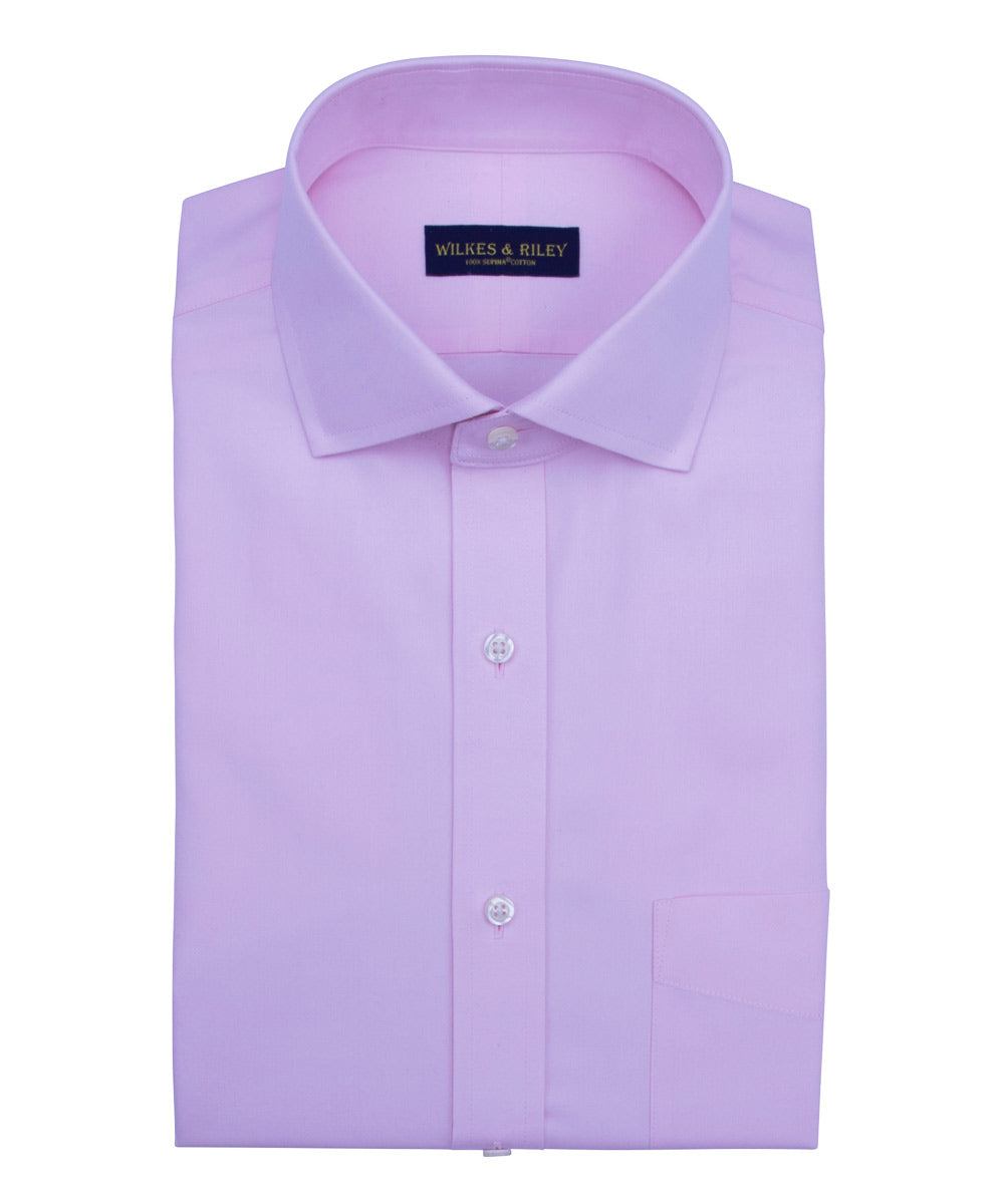 The Anatomy of a  Wilkes & Riley Dress Shirt