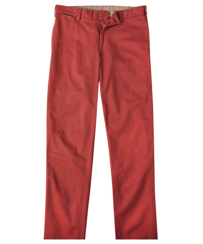 Wilkes & Riley Bills Khakis weathered Red Classic Fit