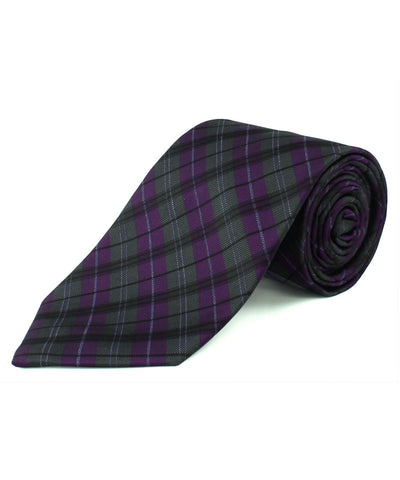 Purple Plaid  <br />   * made in Italy  *