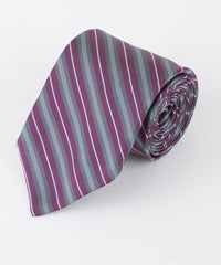 Purple Thin Multi Stripe  <br />   * made in Italy  *