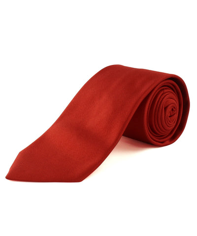 Red Solid Twill
