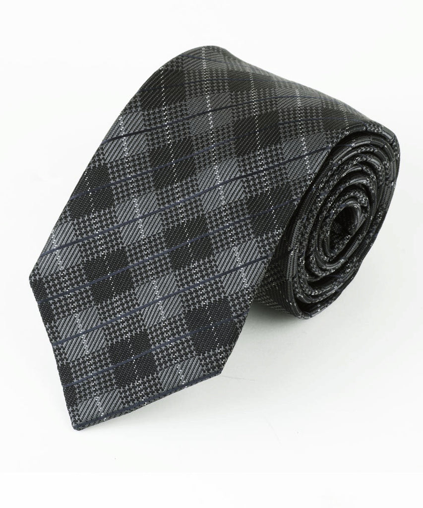 Grey Diamond Plaid  <br />   * made in Italy  *