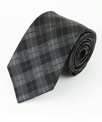 Grey Diamond Plaid