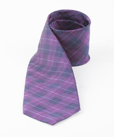 Purple Diamond Plaid