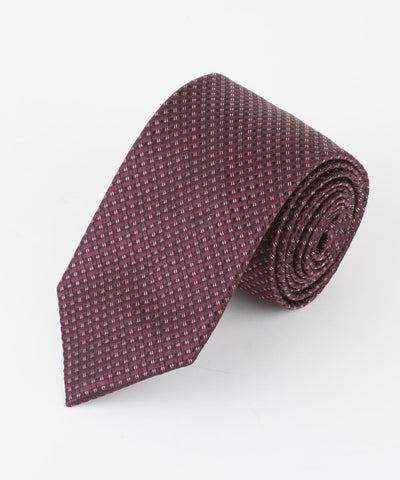Burgundy Micro Squares  <br />   * made in Italy  *