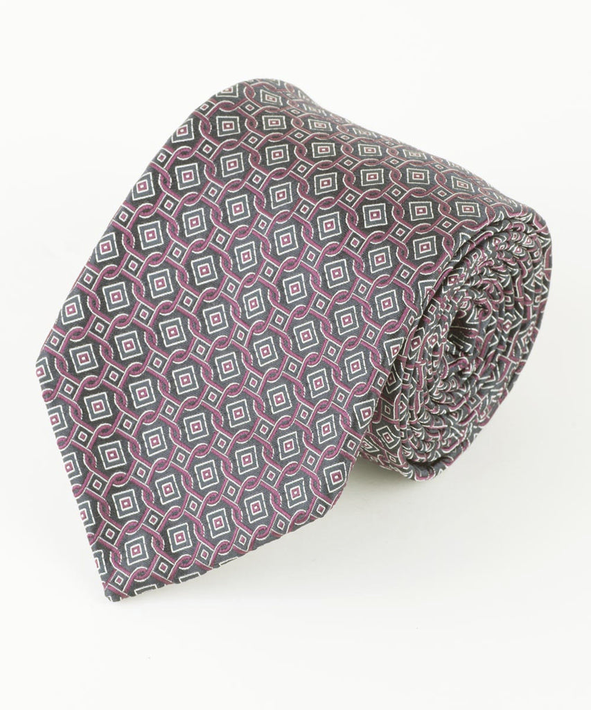 Purple Square Geo  <br />   * made in Italy  *