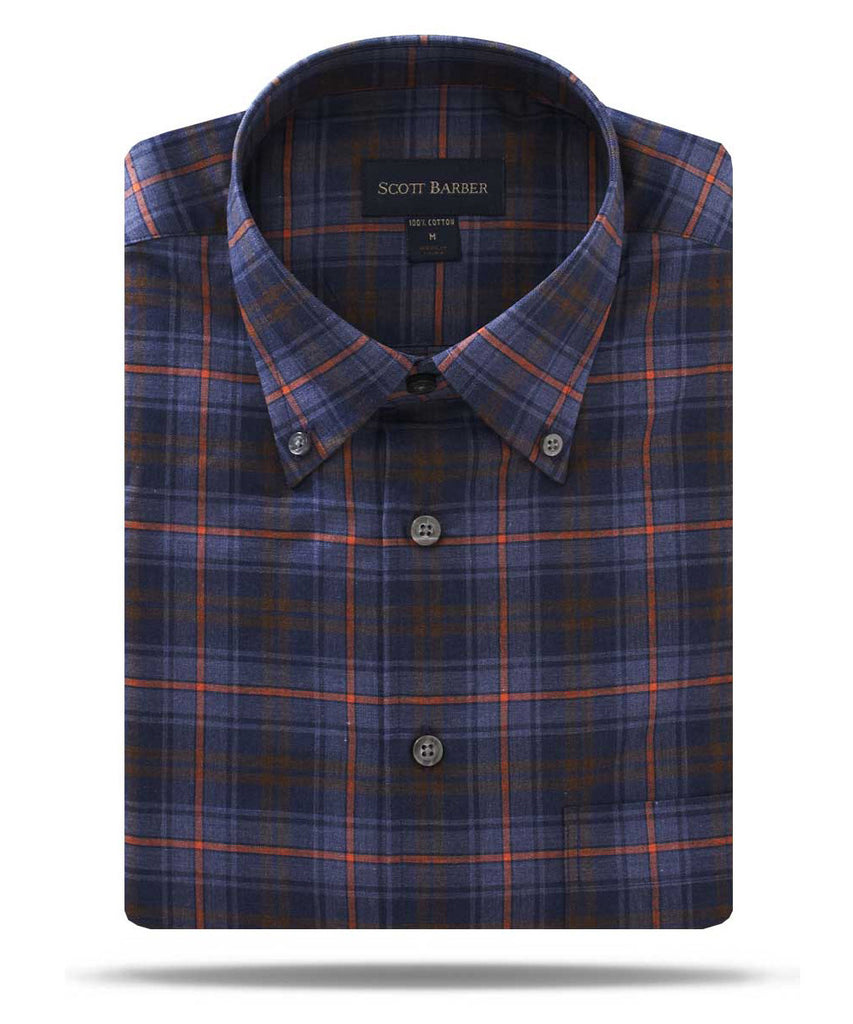 scott barber jackson melange twill plaid at Wilkes & Riley