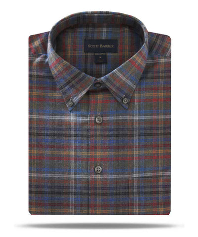 Scott Barber - Multi-Colored Flannel Plaid