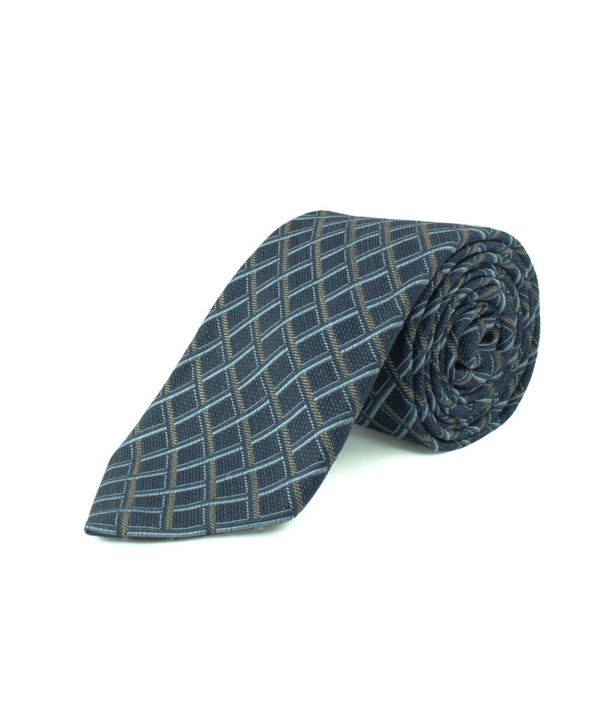 Navy Multi Basketweave  <br />   * made in Italy  *