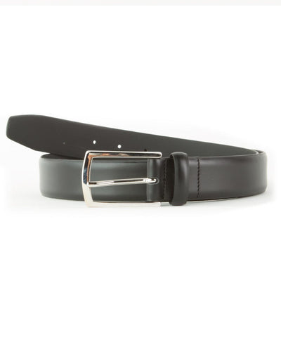 Black Feather Edge Belt