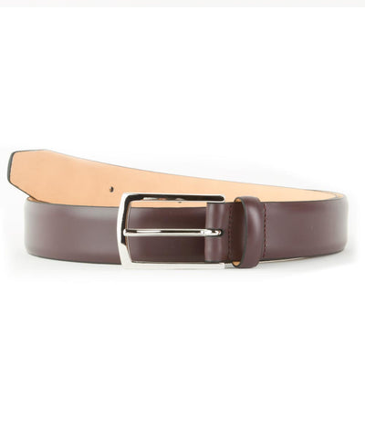Burgundy Feather Edge Belt