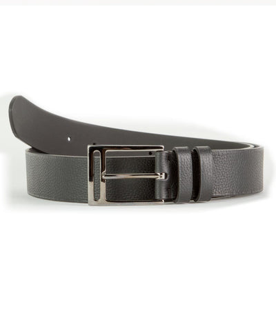 Black textured Slab Belt