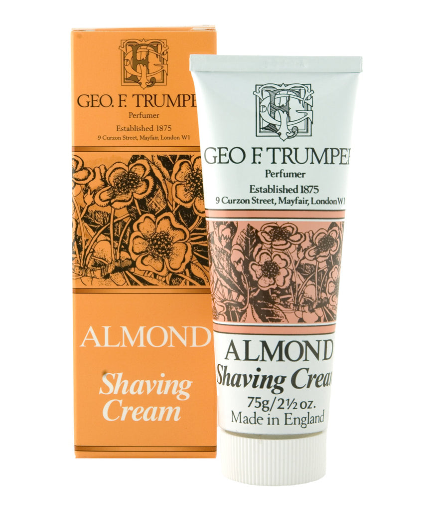 Almond Shaving Cream Tube 75g By Geo. F. Trumper