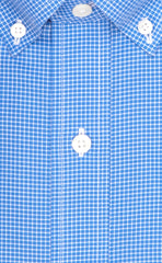 Wilkes & Riley Blue Mini Check Button Down
