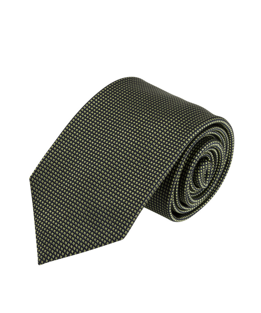 Wilkes & Riley Green Textured Solid Tie
