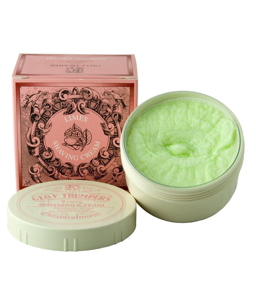 Extract of Limes shaving cream by Geo. F. Trumper - London