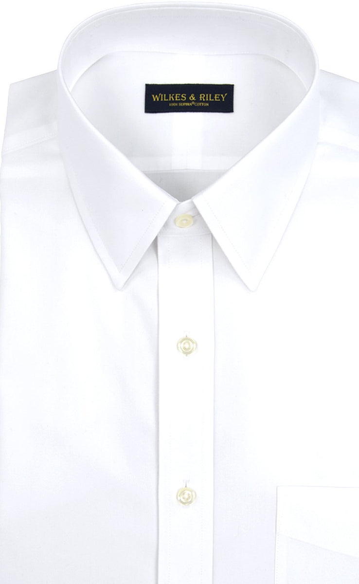 Wilkes & Riley White Point Collar