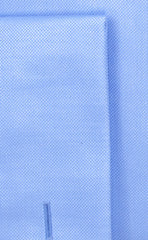 Wilkes and Riley Tailored Fit Blue Solid Royal Oxford English Spread Collar French Cuff Supima® Cotton Non-Iron Dress Shirt Alt