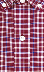 Wilkes & Riley Burgundy Multi Plaid Button Down Alt