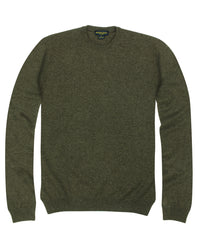 Wilkes & Riley 100% Cashmere Sweater W/ Loro Piana Yarn - Brown V-Neck