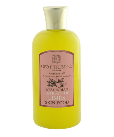 Extract of Limes Skin Food 200ml By Geo. F. Trumper