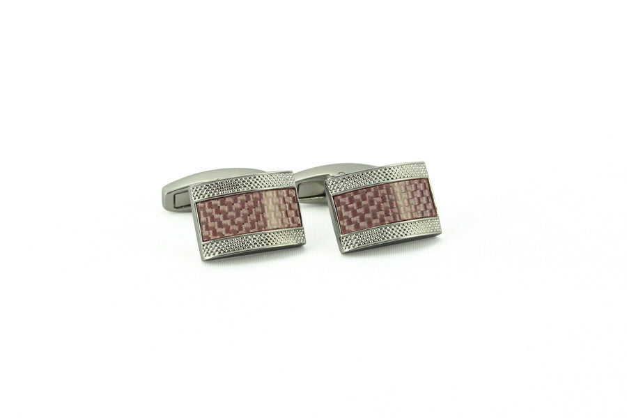 Pink Carbon Fiber Rectangle Cufflinks>VIEW FULL SIZE IMAGE</a>                                                                                                         <div id=