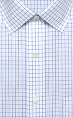 Wilkes & Riley Large Check Spread Collar Alt