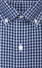 Wilkes & Riley Sky & Navy Large Gingham Button Down Alt
