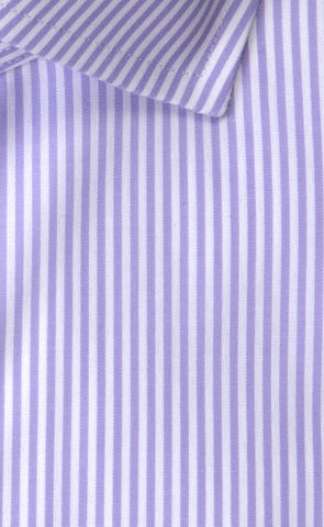 Wilkes & Riley Lavender Bengal English Spread Collar Alt
