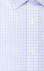 Wilkes & Riley Navy & Sky Poplin Spread Collar Alt