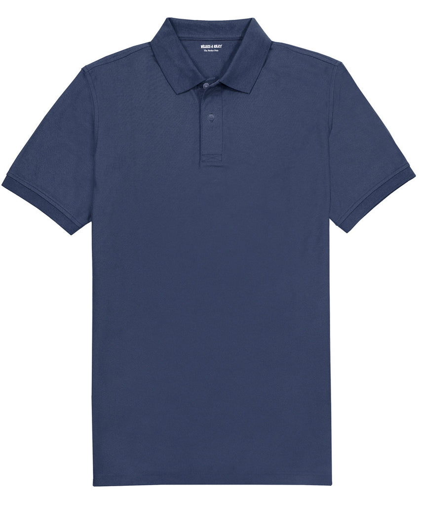 Navy Piqué Polo>VIEW FULL SIZE IMAGE</a>                                                                                                         <div id=